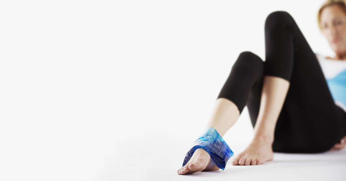 New York natural ankle sprain treatment